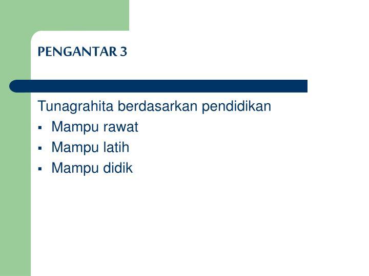 PENGANTAR 3