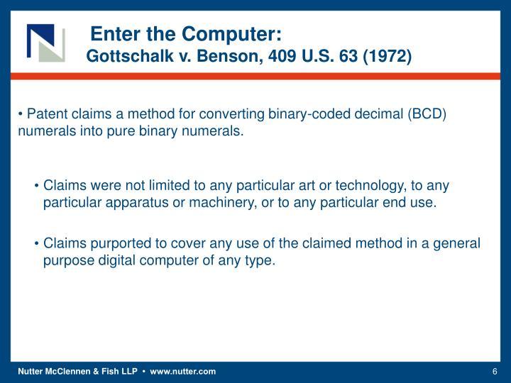 Enter the Computer: