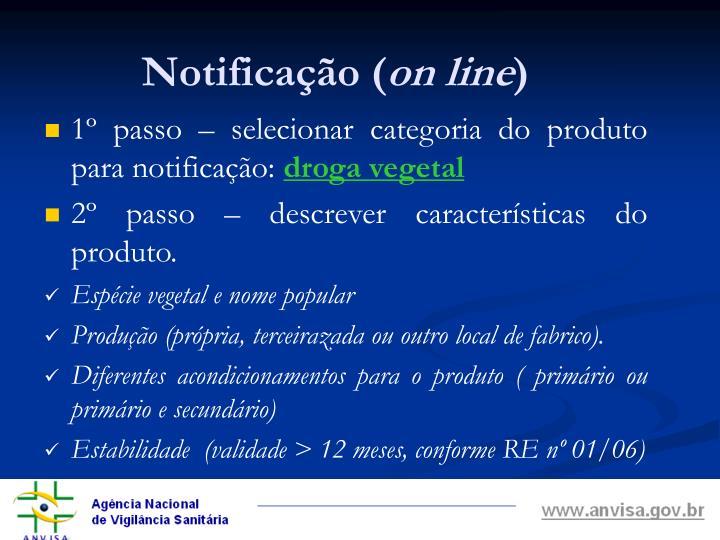 Notificação (