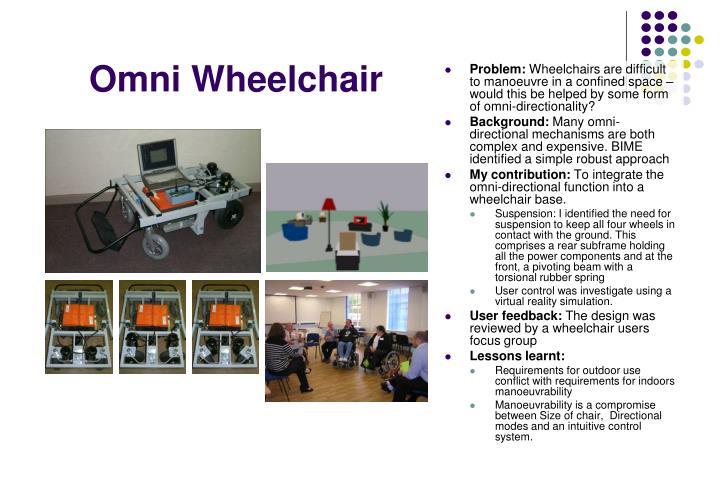 Omni Wheelchair