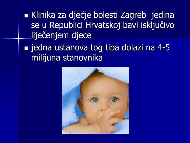 Klinika za dječje bolesti Zagreb
