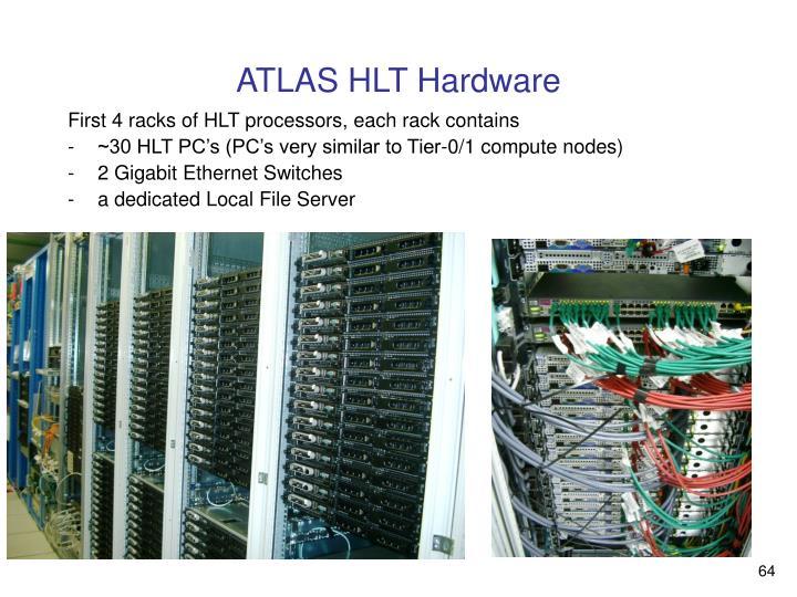 ATLAS HLT Hardware