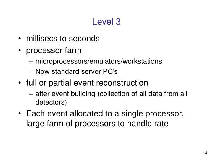 Level 3