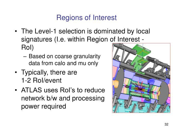 Regions of Interest