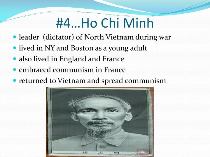 #4…Ho Chi Minh