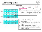 addressing c aches1