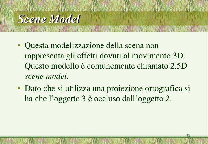Scene Model