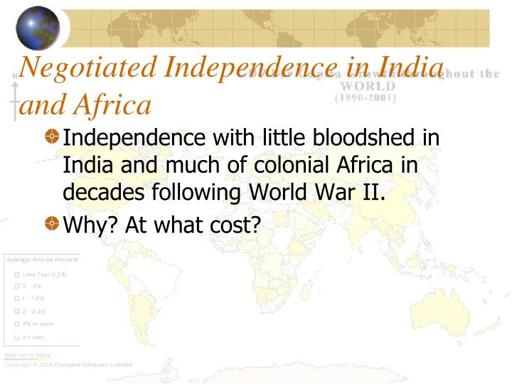 Negotiated Independence in India and Africa