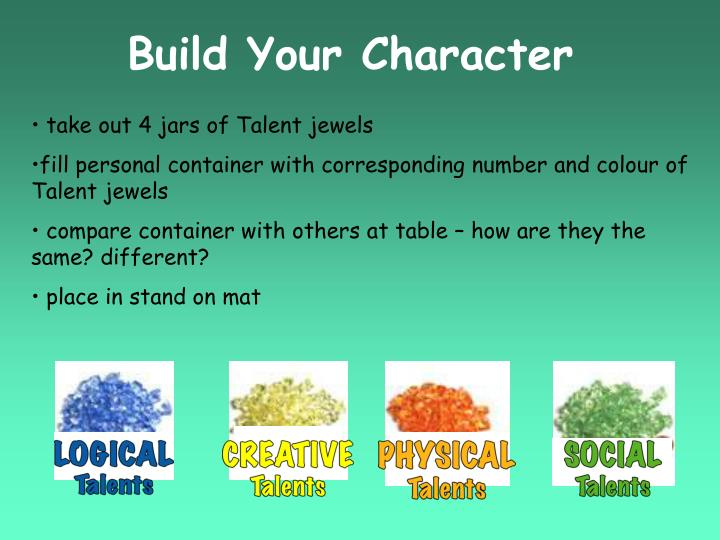 Build Your Character