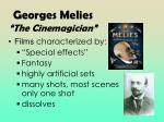 georges melies the cinemagician