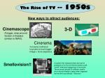 the rise of tv 1950s1