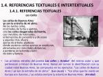 1 4 referencias textuales e intertextuales