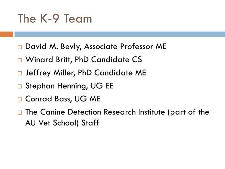 The K-9 Team