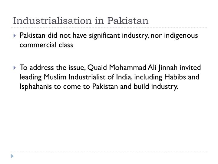Industrialisation in pakistan2