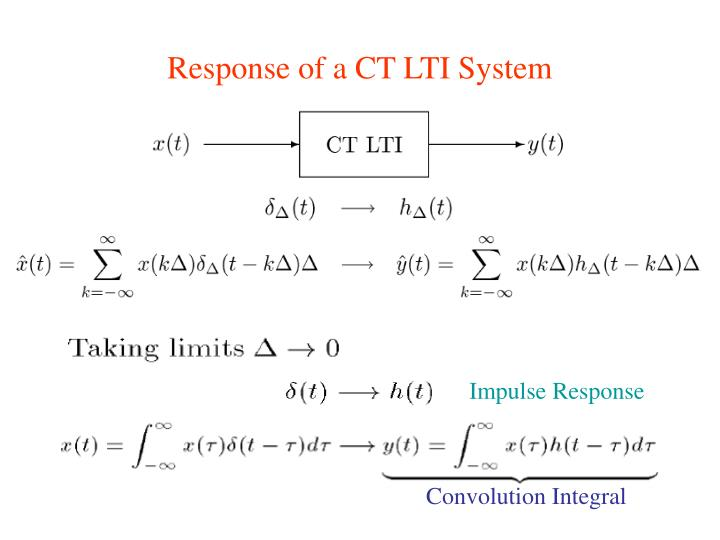 PPT - Convolution Integral PowerPoint Presentation - ID ...
