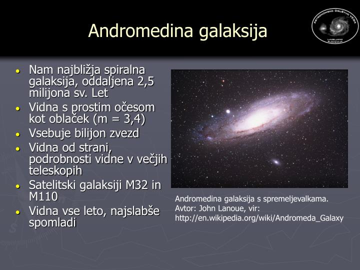 Andromedina galaksija