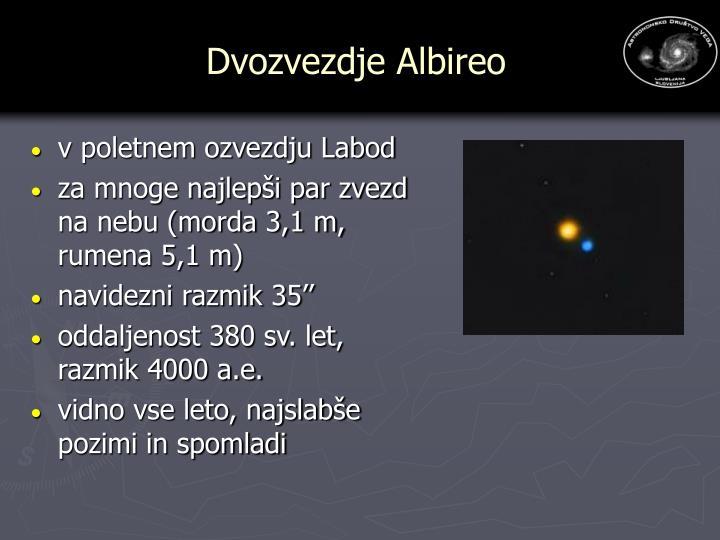 Dvozvezdje Albireo