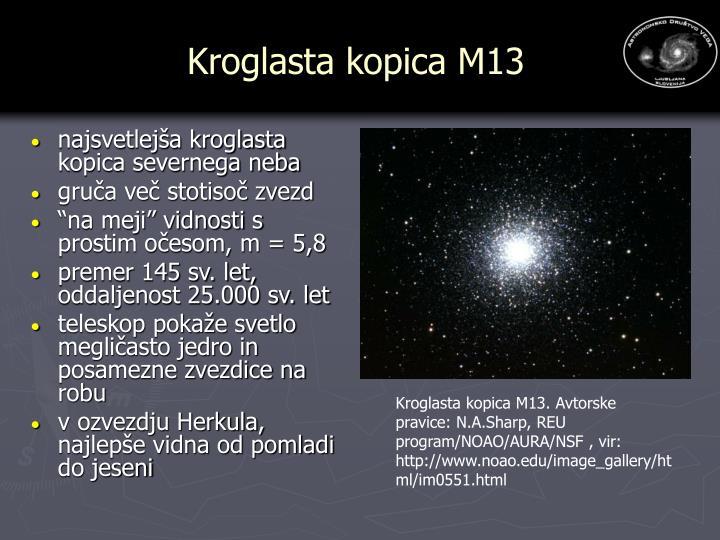 Kroglasta kopica M13