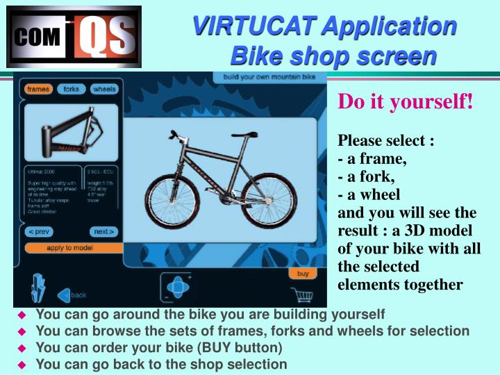 VIRTUCAT Application