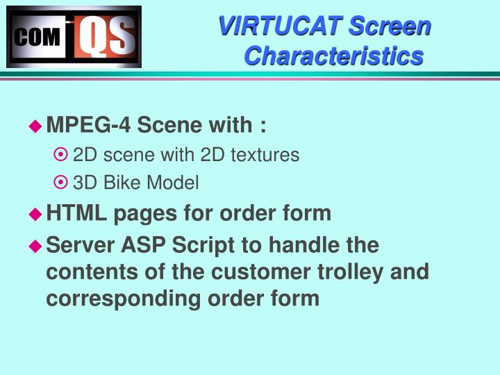 VIRTUCAT Screen