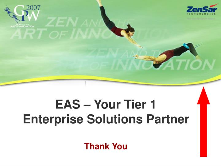 EAS – Your Tier 1