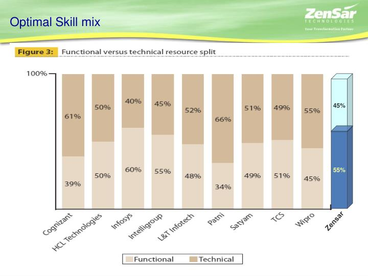 Optimal Skill mix