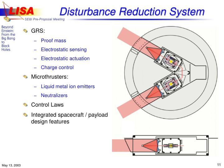 Disturbance Reduction System