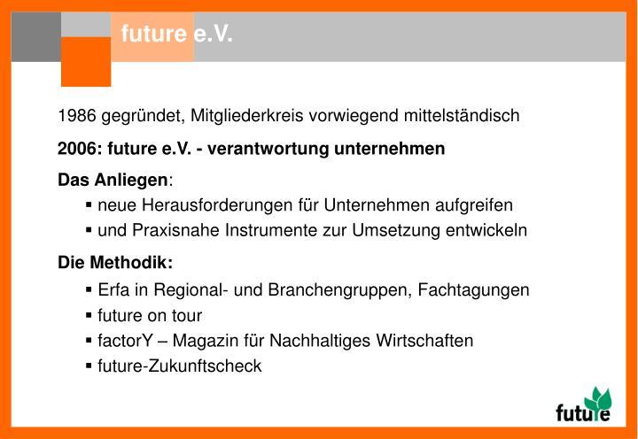 future e.V.