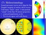 7 helioseismology