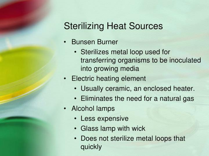 Sterilizing Heat Sources