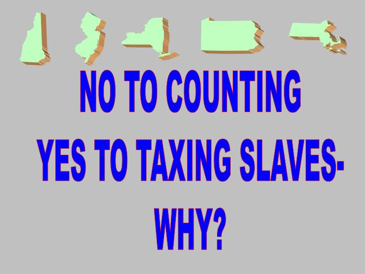 NO TO COUNTING