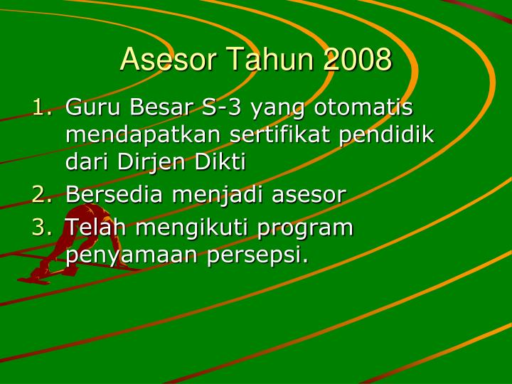 Asesor Tahun 2008