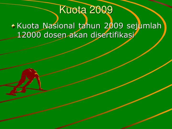 Kuota 2009