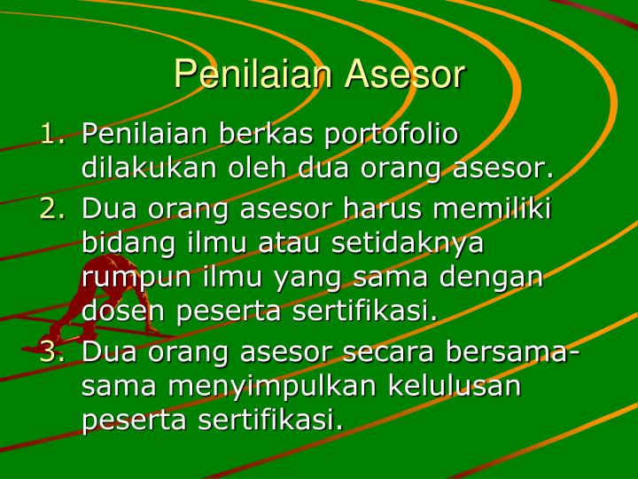 Penilaian Asesor