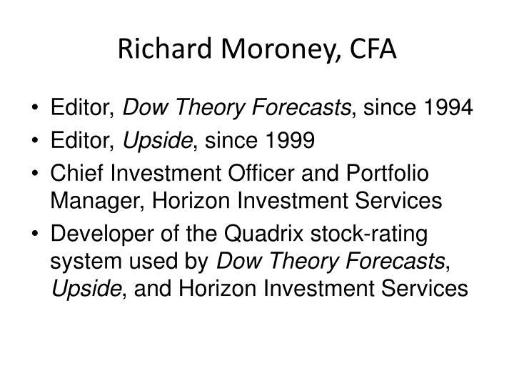 Richard Moroney, CFA