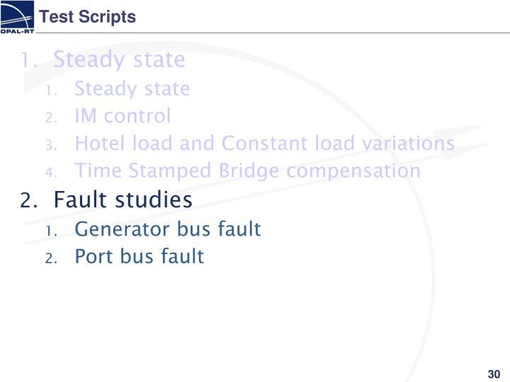 Test Scripts