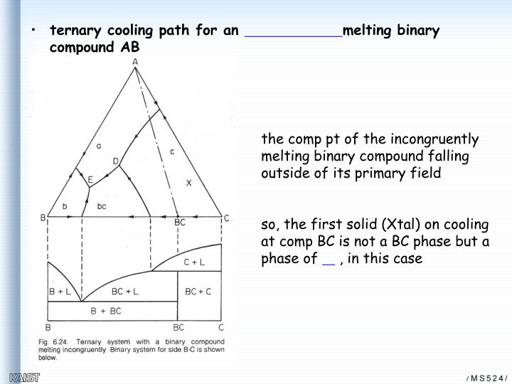 ternary cooling path for an