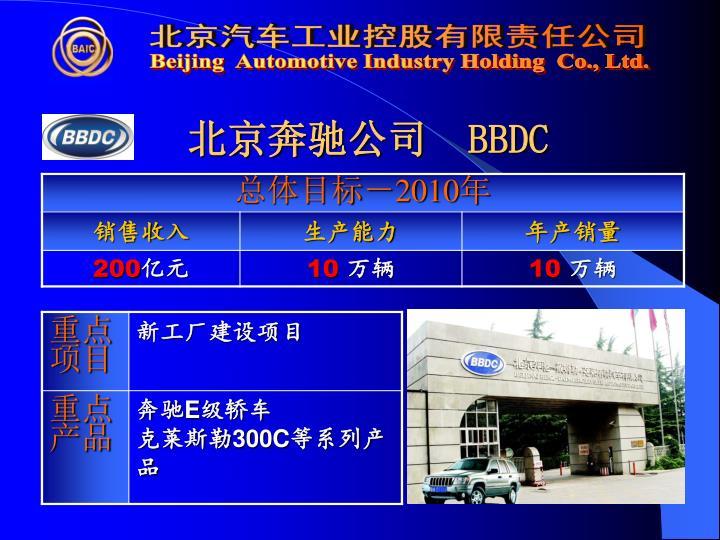 北京奔驰公司