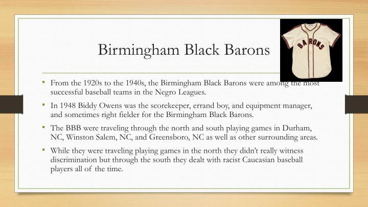 Birmingham Black Barons