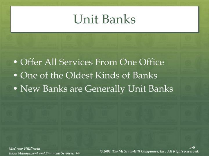 Unit Banks