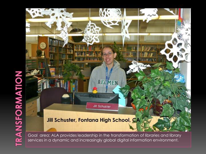 Jill Schuster, Fontana High School, CA