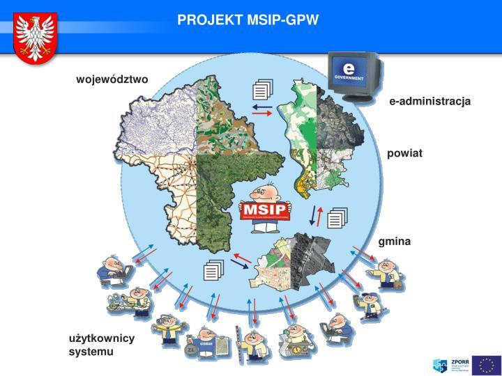 PROJEKT MSIP-GPW