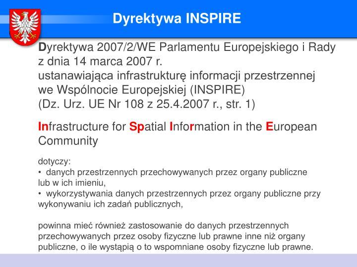Dyrektywa INSPIRE
