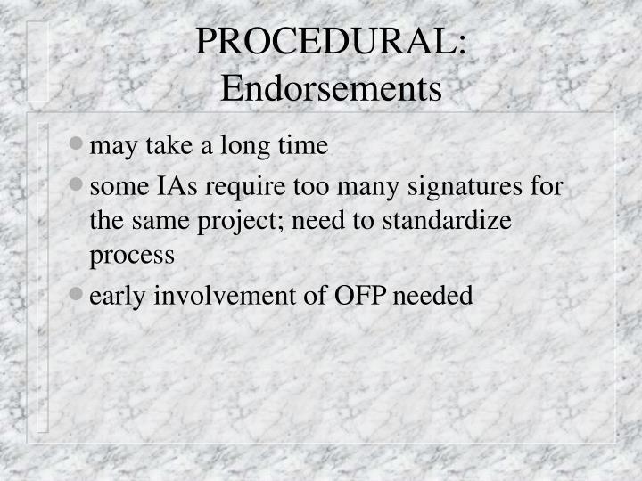 PROCEDURAL: