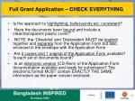 full grant application check everything4