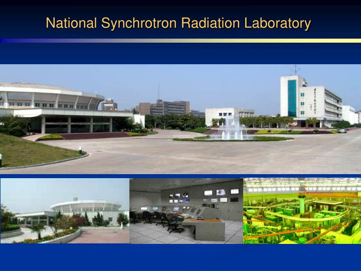 National Synchrotron Radiation Laboratory