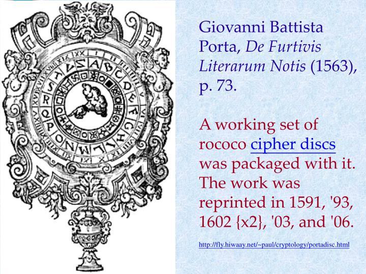 Giovanni Battista Porta,