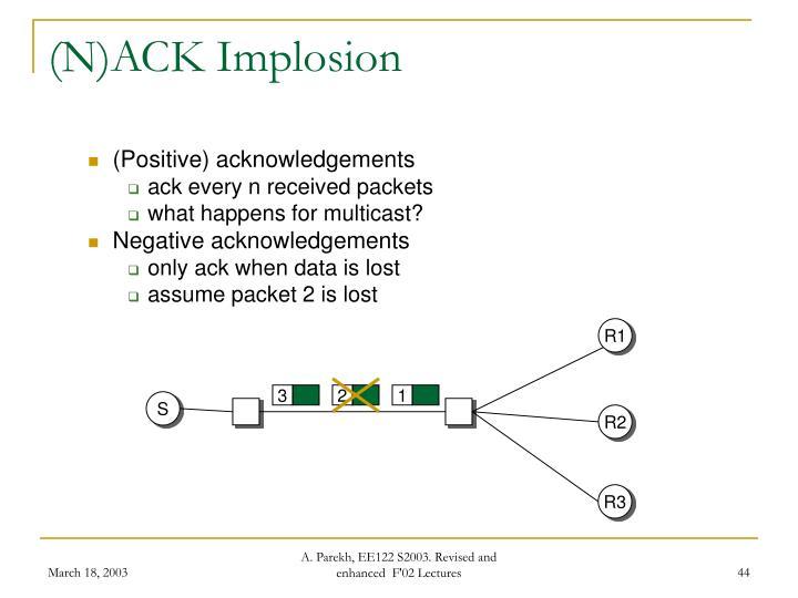 (N)ACK Implosion