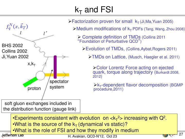 Factorization proven for small  k