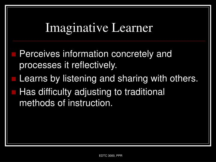 Imaginative Learner